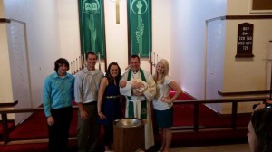 Charley and Family with Pr. Buetow
